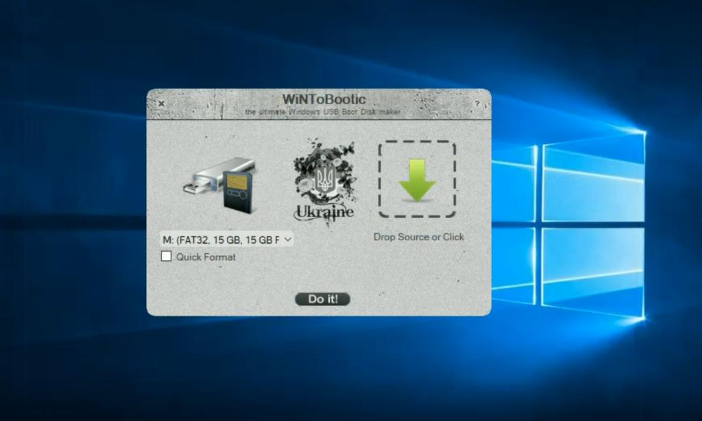 Как установить Windows на USB носитель Программа WiNToBootic